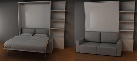 Bed To Sofa Wall Bed Sofas Wall Beds That Transform Into Sofas