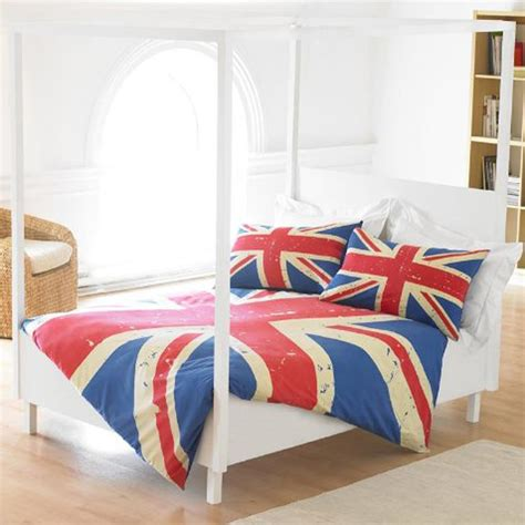 union jack bedding union jack double duvet cover set new vintage bedding flag