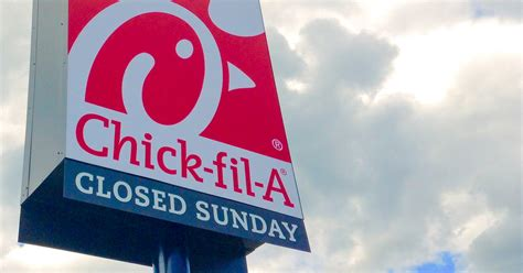 why is fil a not open on sundays thrillist