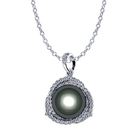tahitian pearl necklace jewelry designs