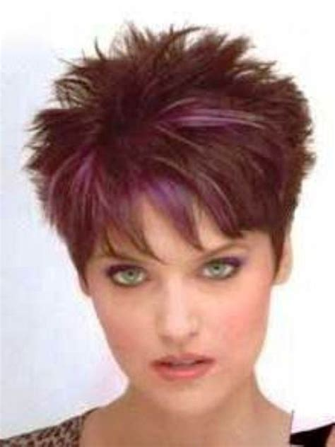 short spikey hair styles pink streak sarah 2 amazing elements in short spiky hairstyles for