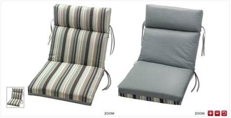 Patio Furniture Cushions Teal Tuscany Teal Stripe Spa Collection Reversible Patio Chair