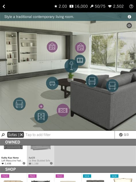 Home Decor App by Be An Interior Designer With Design Home App Hgtv S