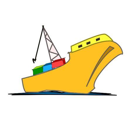 cargo ship clip art cliparts co - Cargo Boat Clipart