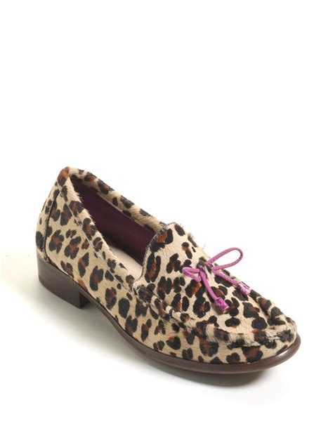 cheetah loafers couture yvonne cheetah print calf hair loafers in