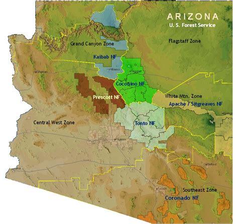 arizona us map maps us map arizona