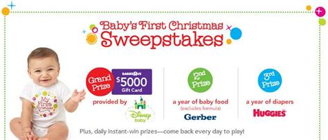 Babies R Us Christmas Sweepstakes - baby s first christmas babies r us gift card giveaway