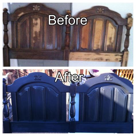 how to refinish a headboard refinished my own headboard home to be dream home