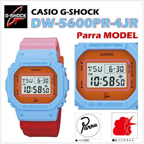 G Shock Dw 5600yg 4jr カシオ gショック dw 5600pr 4jr parra パラ モデル g shockパラダイス