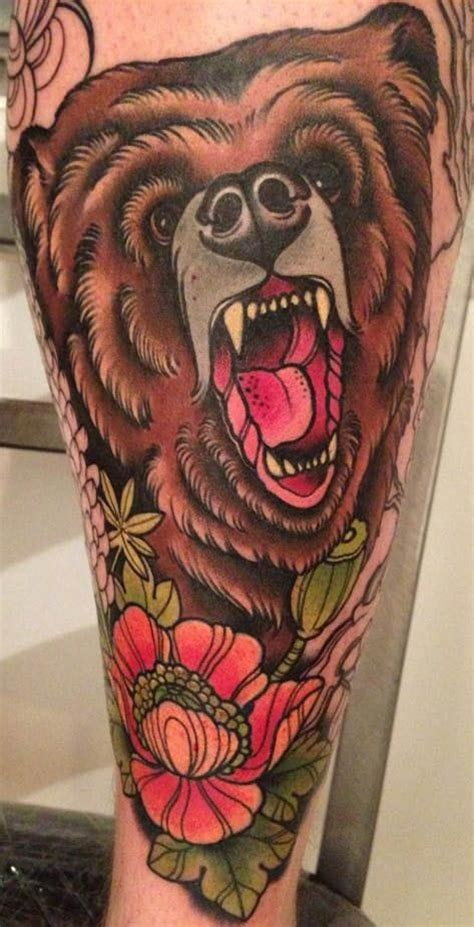 american traditional bear tattoo 25 mighty traditional tattoos tattoodo