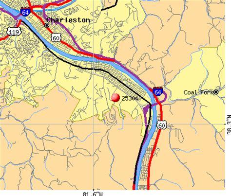 charleston wv map 25304 zip code charleston west virginia profile homes