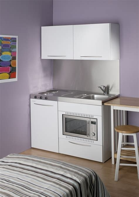 agréable Amenagement Mini Cuisine #1: amenagement-petite-cuisine-pour-studio.jpg