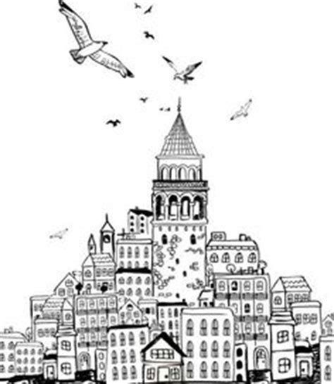 hagia sophia istanbul turkey coloring page coloring 2 1000 images about istanbul art istanbul 231 izim on