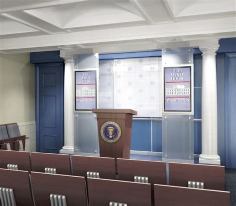 White House Press Briefing Room by Projects Callisonrtkl