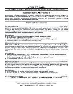 reveal the secrets of the best retail manager resume retail manager resume and resume exles on