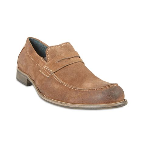 steve madden loafers for steve madden blaike loafers in beige for suede