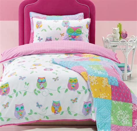 girls owl bedding over 100 girls bedroom themes kids bedding dreams