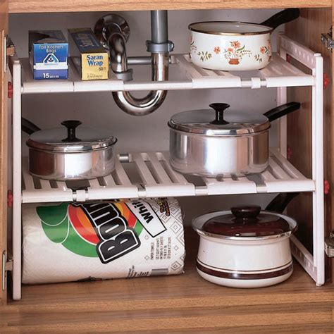 The Sink Shelf Organizer by Sink Expandable Shelf The Sink Storage