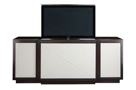 Tv Cabinet Freedom by Custom Modern Motorized Tv Lift Cabinet