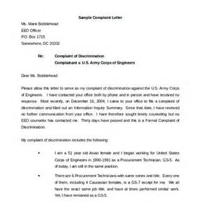 Report Writing About Environment by 12 Environment Complaint Letter Templates Free Sle Exle Format Free