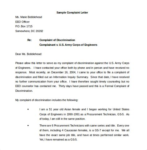 Complaint Letter Format To District Collector In 12 Environment Complaint Letter Templates Free Sle Exle Format Free