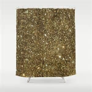 gold sparkle curtains gold glitter shower curtain