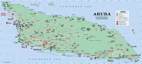 caribbean map aruba aruba map
