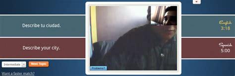 chat video camara gratis video chat para practicar ingles gratis en linea cursos