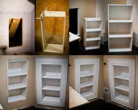 in wall bathroom shelves access panel shelves diy built ins