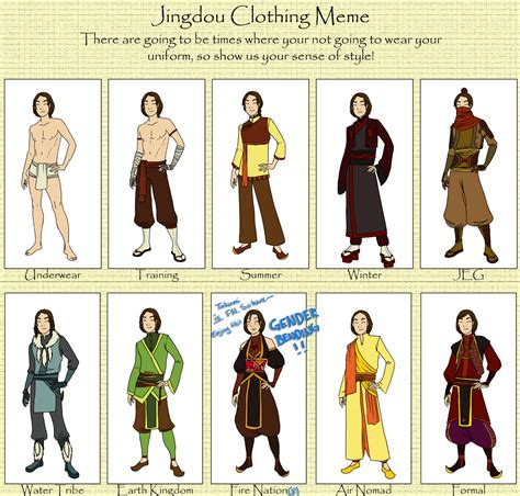 Clothes Meme - jingdou clothing meme by ranya ni on deviantart