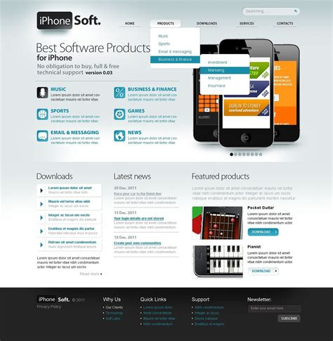 joomla template software design software store joomla template web design templates