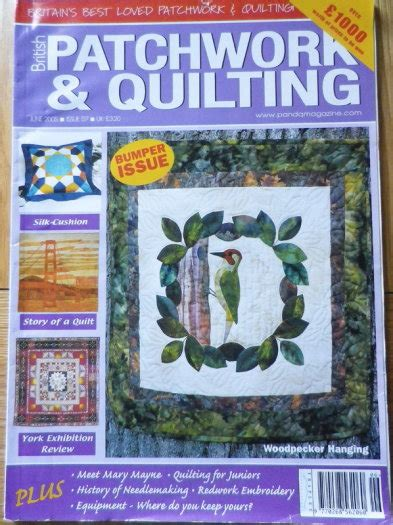 Patchwork Quilt Magazine - patchwork quilting magazine for sale in naas