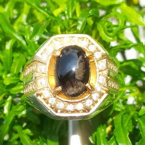 Cincin Agate cincin batu agate bulu macan indonesia toko batu akik