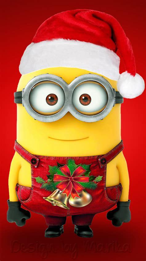 wallpaper minion santa claus hd celebrations christmas