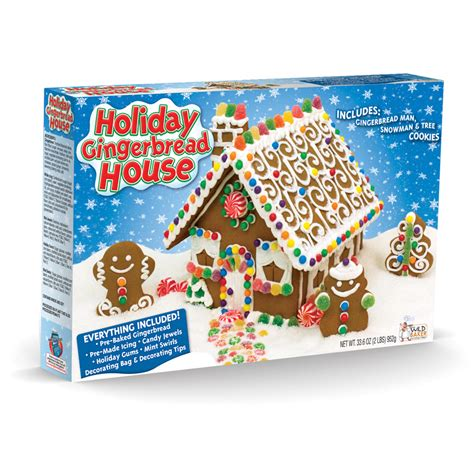 gingerbread house kits holiday house gingerbread kit