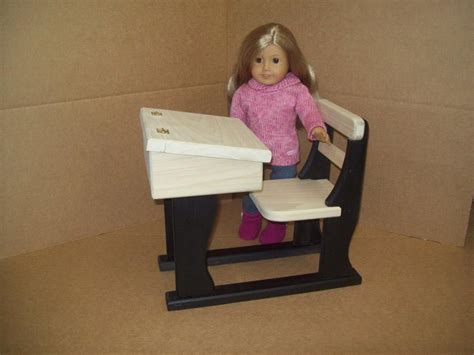 18 inch doll desk custom 18 inch doll school desk by pine grove woodshop custommade