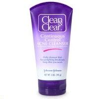 Acne Cleanser Scrub Beta Plus clean and clear continuous acne cleanser