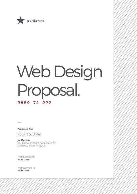 web design proposal sle web design proposal by luthfie saja issuu