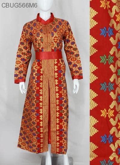 Sarimbit Gamis 1 Anak Kd Prodo gamis batik songket prodo gamis batik murah batikunik