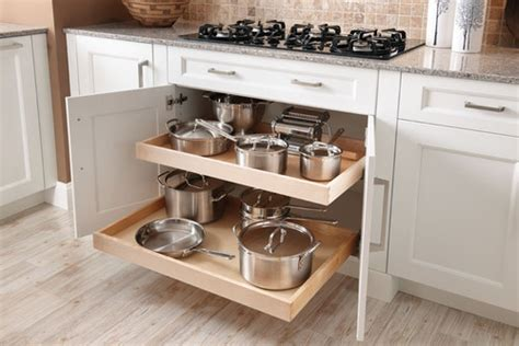 Kitchen Storage Cabinets For Pots And Pans by Pot And Pan Storage Ideas