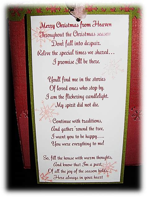 printable christmas in heaven poem merry christmas from heaven poem