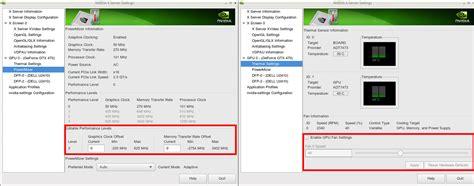 nvidia driver problems windows 8 nvidia linux drivers powermizer coolbits performance