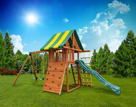 swing set steps 17 best images about wooden swing sets on pinterest