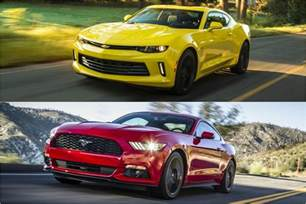 whats better a mustang or camaro mustang vs camaro 2017 2019 2020 car release and specs