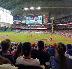 minute maid park section 116 minute maid park section 116 row 22 seat 18 houston astros vs texas rangers shared anonymously