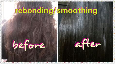 can i get a hair rebond after 6 months of perm the girl rebonding smoothing step by step permanent hair