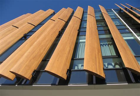 timber architecture timber vertical louvres mall szukaj w google office