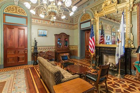 The Oval Office Suite by Tour The Eisenhower Executive Office Building The White