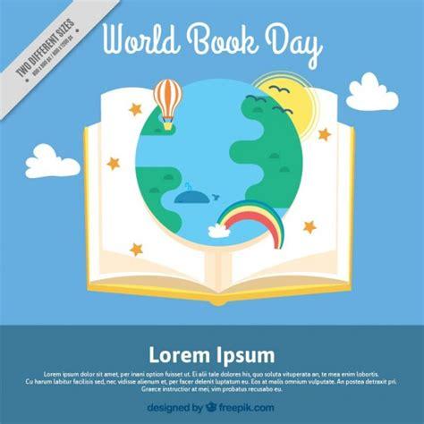libro my world your world libro aperto con un mondo meraviglioso scaricare vettori gratis