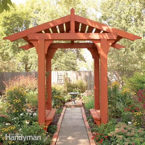 single post pergola arbor designs how to build a timber